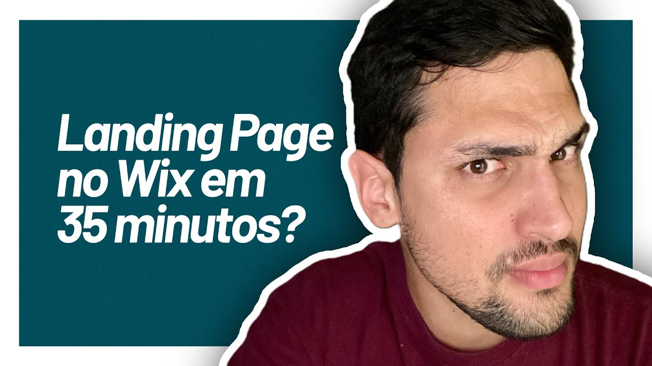 Criando uma Landing Page com o Wix - Parte 1  | Aula #007