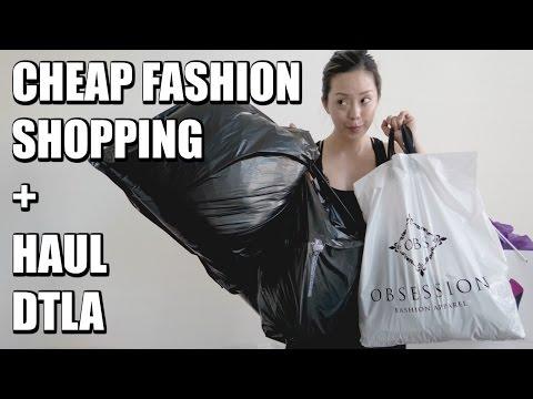 SHOPPING FOR CHEAP CLOTHES DTLA | MORE SEREIN