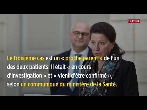 Coronavirus: un troisième cas confirmé en France