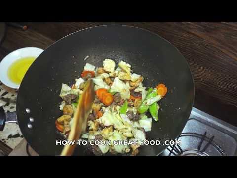 Paano magluto Chop Suey Recipe - Tagalog Pinoy Filipino Style