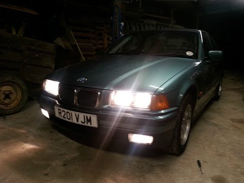 How to remove a bmw e36 headlight and indicators