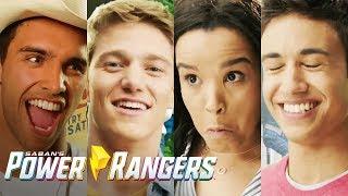 'Bloopers & Outtakes' BTS on Set!   Power Rangers: Super Ninja Steel