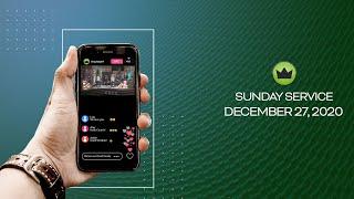 Sunday Service - December 27, 2020