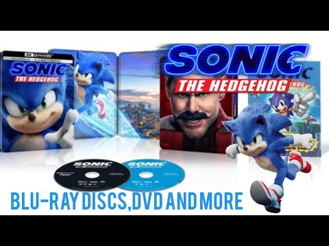 New Sonic The Hedgehog Dvd Blu Ray And More Youtube