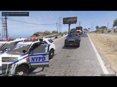 LSPDFR #577 - NYPD HIGHWAY PATROL (GTA 5 REAL LIFE POLICE PC MOD)