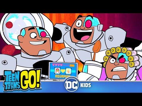 Teen Titans Go! | Go Go Cyborg Gadgets | DC Kids