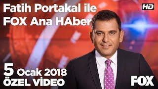 Mahmut Hoca'yı kaybettik... 5 Ocak 2018 Fatih Portakal ile FOX Ana Haber