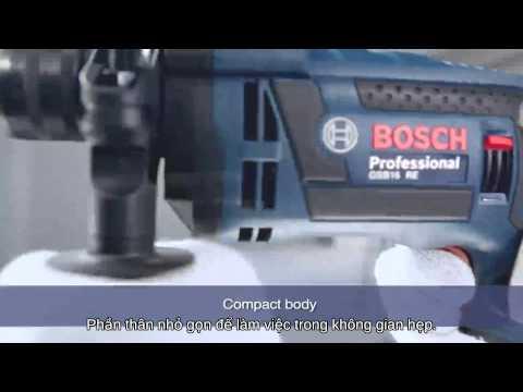 Електрическа ударна бормашина BOSCH GSB 16 RE #37Menl-Ld9Y