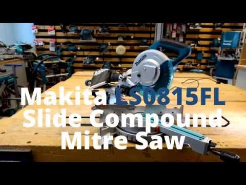 Makita LS0815FL Slide Compound Mitre Saw - FIRST LOOK