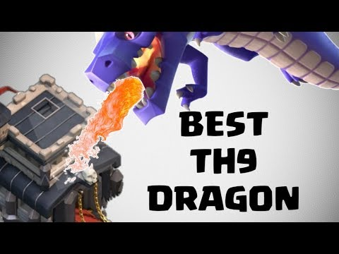 BEST DRAGON STRATEGY IN CLASH OF CLANS