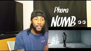 Phora - Numb ( Official Video ) Reaction!!