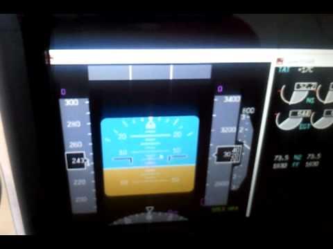 Samsung SPF 87 H  USB Monitor  Glascockpit FSX