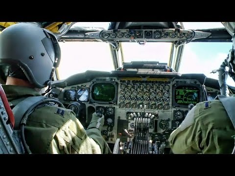 Inside A B-52 Cockpit • Takeoff To Landing