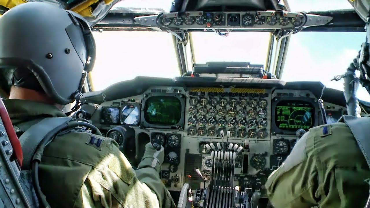 Aircraft Carrier Hd Wallpaper Inside A B 52 Cockpit Takeoff To Landing Youtube