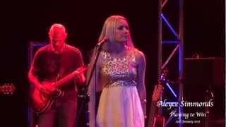 Aleyce Simmonds - Playing to Win (Live)