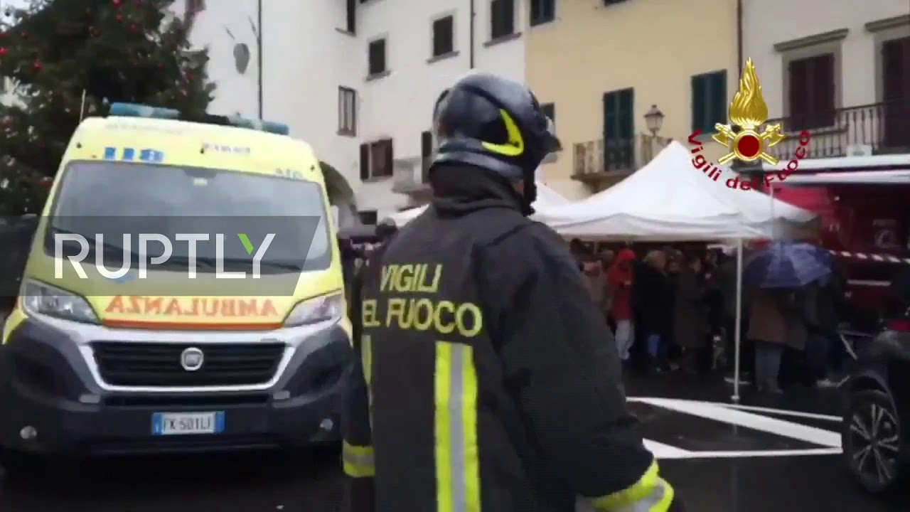 Italy: Earthquake jolts towns in Florence area