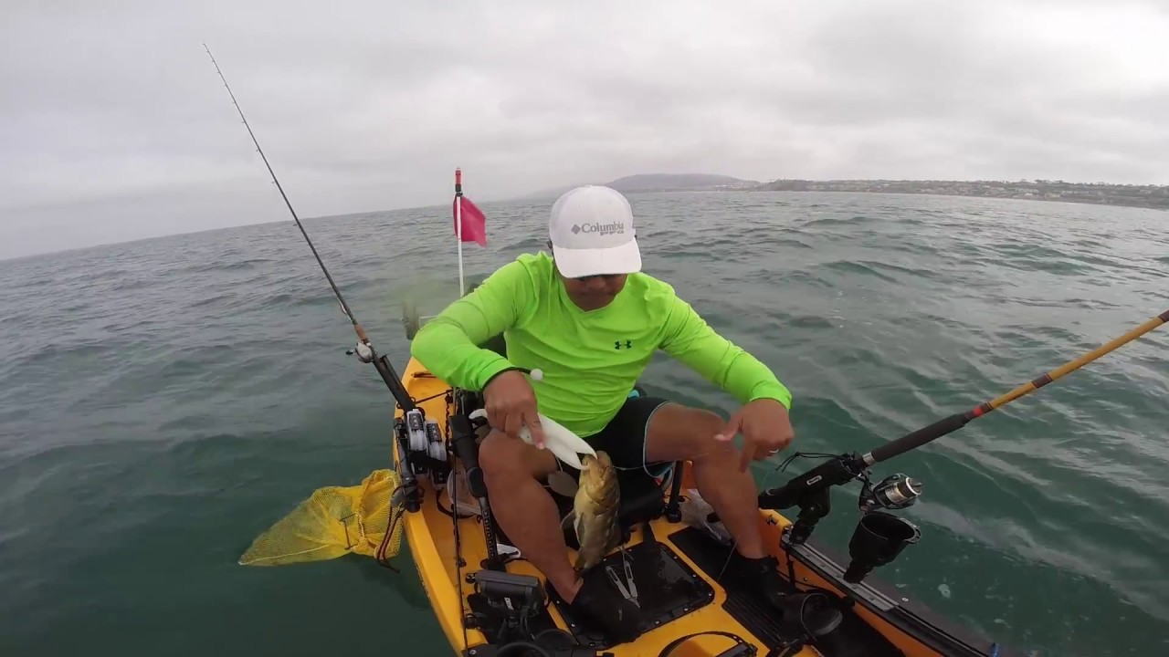 Kayak fishing dana point youtube for Fishing dana point