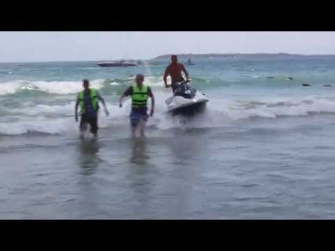 HD Holiday to Bulgaria, Sunny Beach Part 1 of 5, Jet Ski Rid
