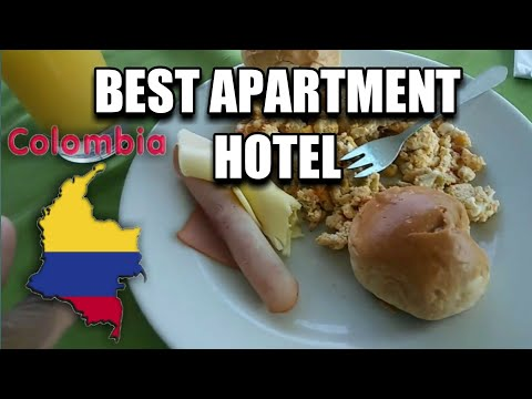 Best Apartment Hotel to stay in Medellin Colombia.