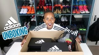 Epic Adidas Soccer Unboxing!