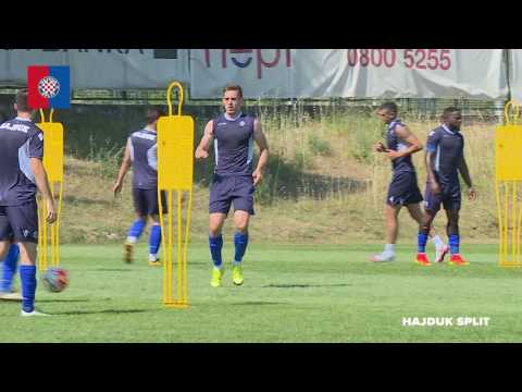 Jutarnji trening HNK Hajduk 11.07.2016.
