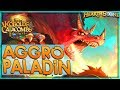 FAST IS KEY - Aggro Paladin Deck Guide & Gameplay 🌟 HEARTHSTONE  | Kobolds Catacombs