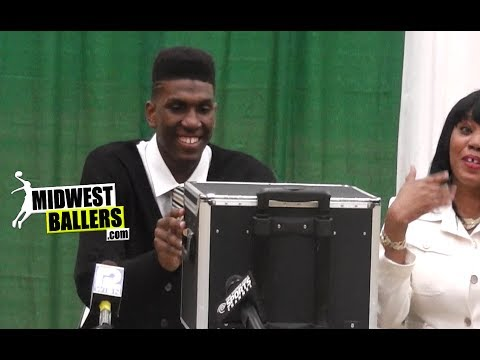 Kevon Looney Makes His College Decision! Press Conference + EXCLUSIVE Highlights