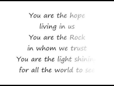 Hope of the Nations  Brian Doerksen lyrics