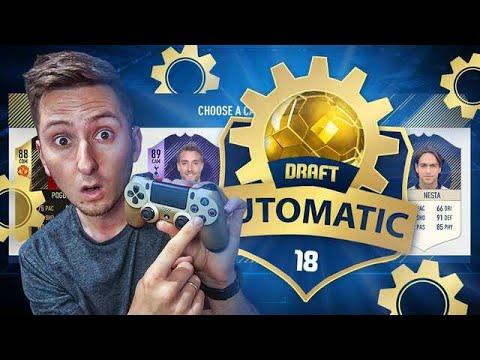 FIFA 18 – AUTOMATYCZNY DRAFT – CHALLENGE [#1]