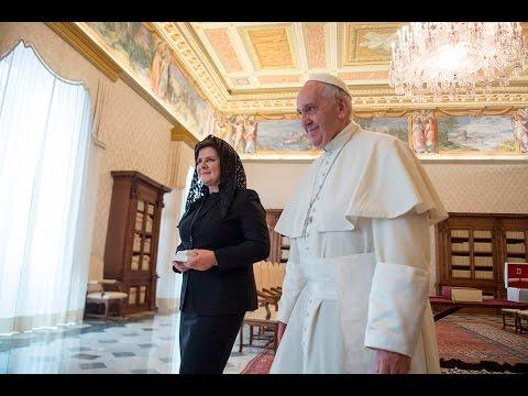 Beata Szydło w Watykanie - skrót z wizyty