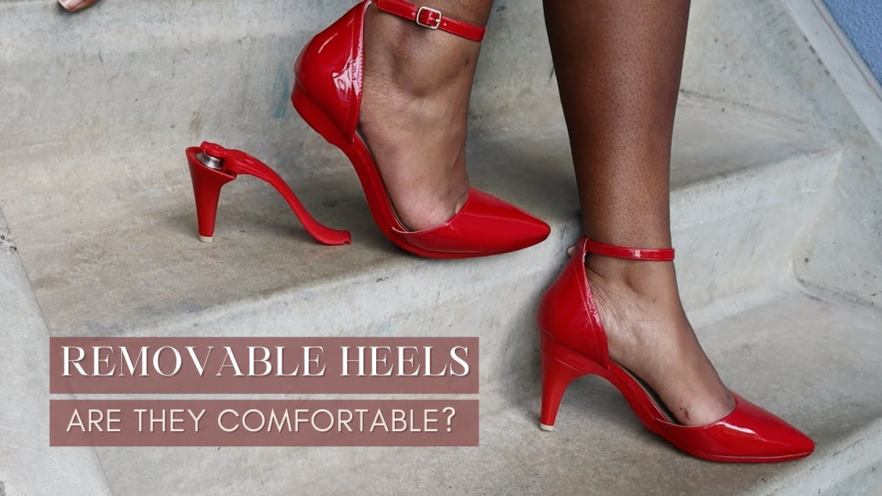 I Tried Heels That Convert To Flats | Find Out If They Are Comfortable! Pashion Footwear Review