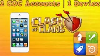 2 Clash of Clans Accounts | 1 Iphone