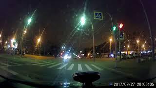 Авария на Ветеранов / Партизана Германа