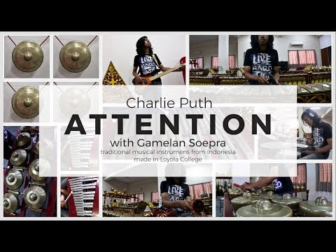 Charlie Puth - Attention Cover with Gamelan Soepra