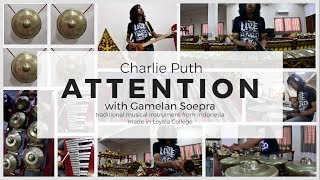 Video Charlie Puth - Attention Cover with Gamelan Soepra download MP3, 3GP, MP4, WEBM, AVI, FLV Juni 2018