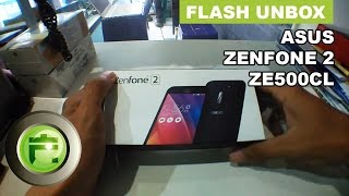 Asus Zenfone 2 ZE500CL - Unboxing and Hands on Indonesia - Flash Gadget Store