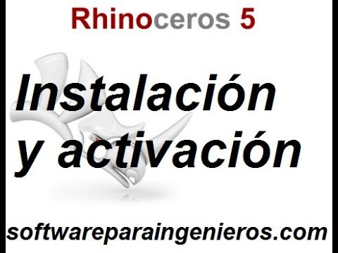 Descarga Rhinoceros 5 Descargar Rhino 5 Youtube