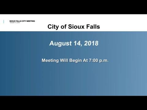 2018-08-14  Sioux Falls Council Meeting - 2746