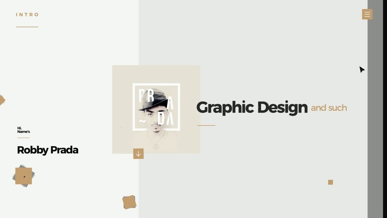 Personal CV - Motion Graphics (Adobe After Effects) - YouTube