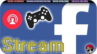 COMO TRANSMITIR / HACER GAMEPLAY EN FACEBOOK   Facebook Live OBS  PC Tutorial