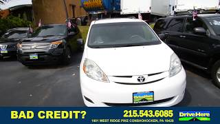 2009 Toyota Sienna, 100% Application Review Policy