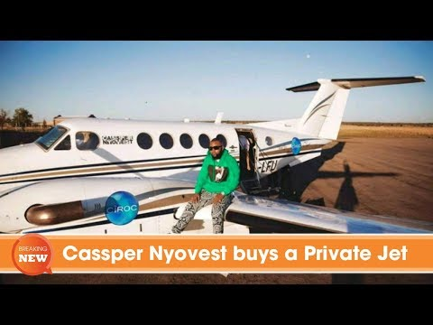 Cassper Nyovest buys a Private Jet