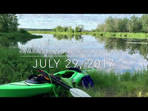 Kayaking Portobello Protected Area 2017