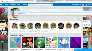 I give account of Roblox with Robux (desc
