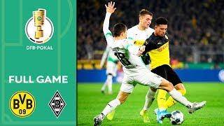 Borussia Dortmund vs. Borussia Mönchengladbach | Full Game | DFB Cup 2019/20 | 2nd Round