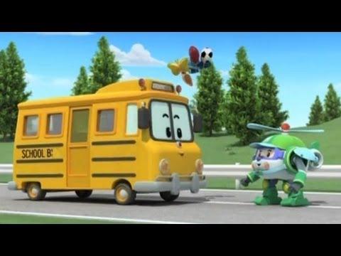 Робокар Поли - Трансформеры - Скулби и его сюрприз (мультфильм 02)