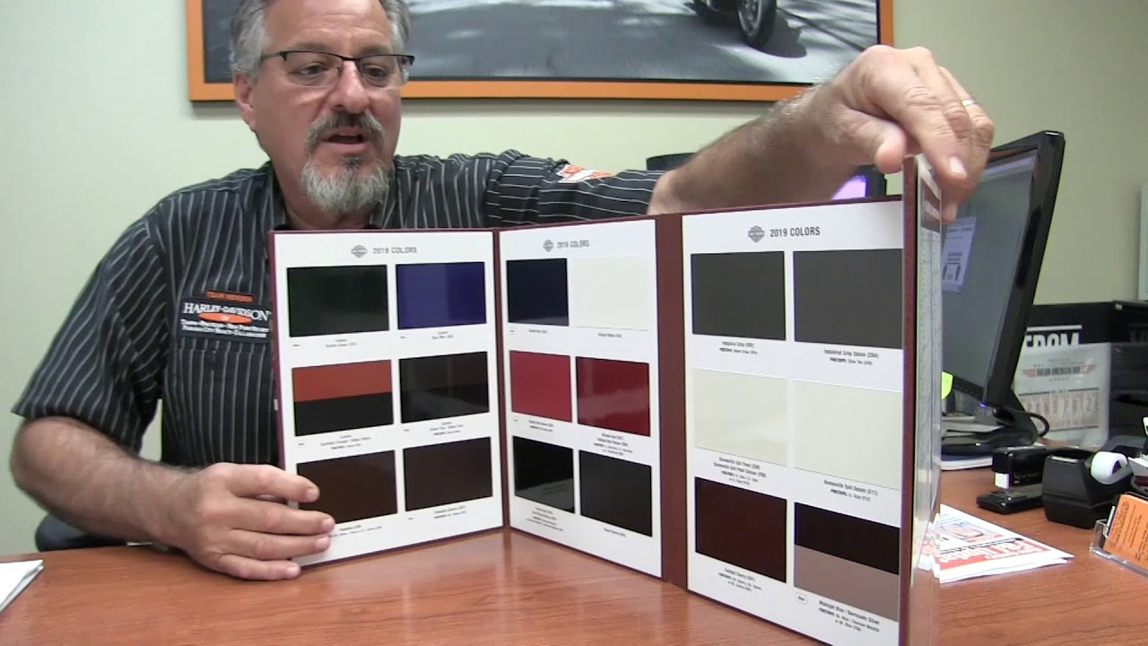 08 Harley Davidson Color Chart