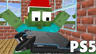 Monster School : PS5 CHRISTMAS PRESENT - Minecraft Animation
