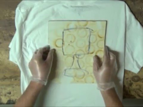 How to make a stamp for t-shirts and printmaking