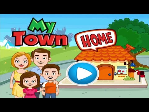 My Town: Home DollHouse - New Kids Play House Game Part 2-2 | Kids Game | Learn | Educational | Fun